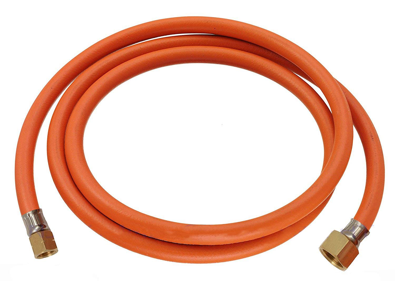 Gasschlauch Propan Zoll 1/2 R x 1/4 lks Übergang Butan 150cm Fontron Ltd