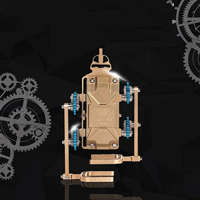 XIEJI Robot Andador Modelo de Montaje de Metal Montaje de Juguetes ...