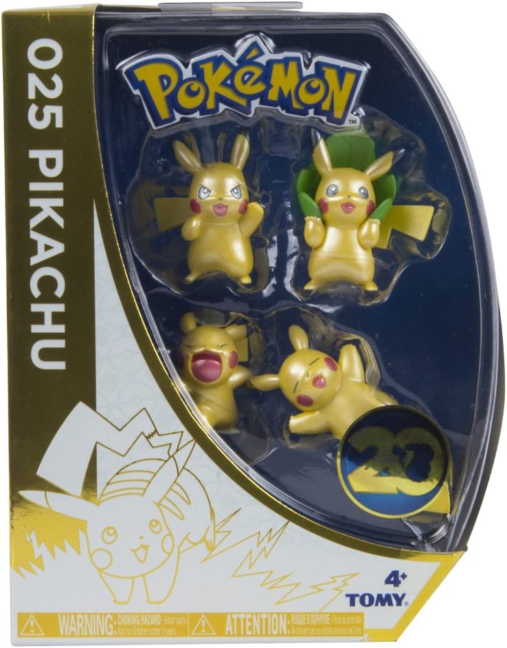 Pokèmon - Pack de 4 Mini Figuras (Tomy T18725ASST2): Amazon.es ...