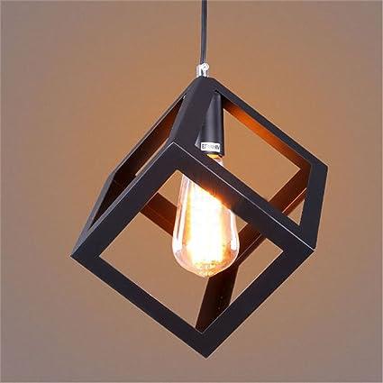 Siamo Home Nero lampadario Quaderat Form Modern 110-220V 1 11 Edison ...