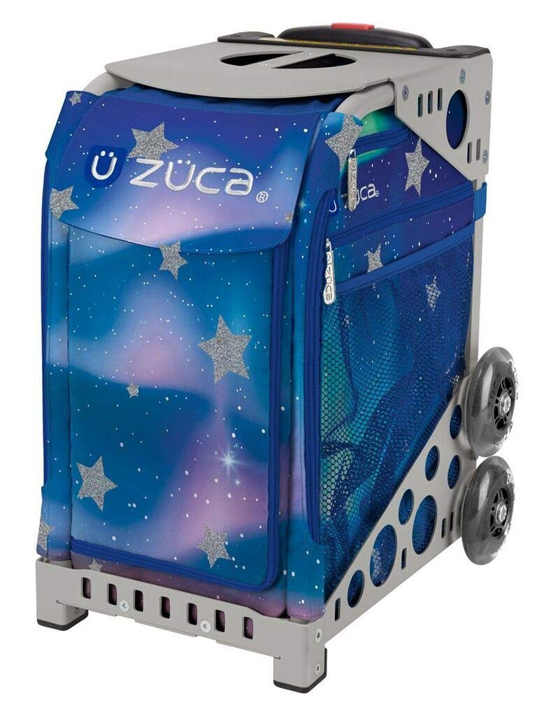 ZUCA Aurora Sport Insert Bag and Gray Frame with Flashing Wheels