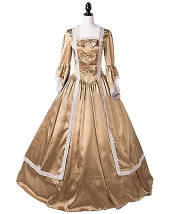Amazon.com: Sinastar 18th Century Vintage Lolita Rococo Party Dress ...