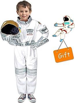 Tacobear Disfraz Astronauta para niños con Casco Astronauta ...