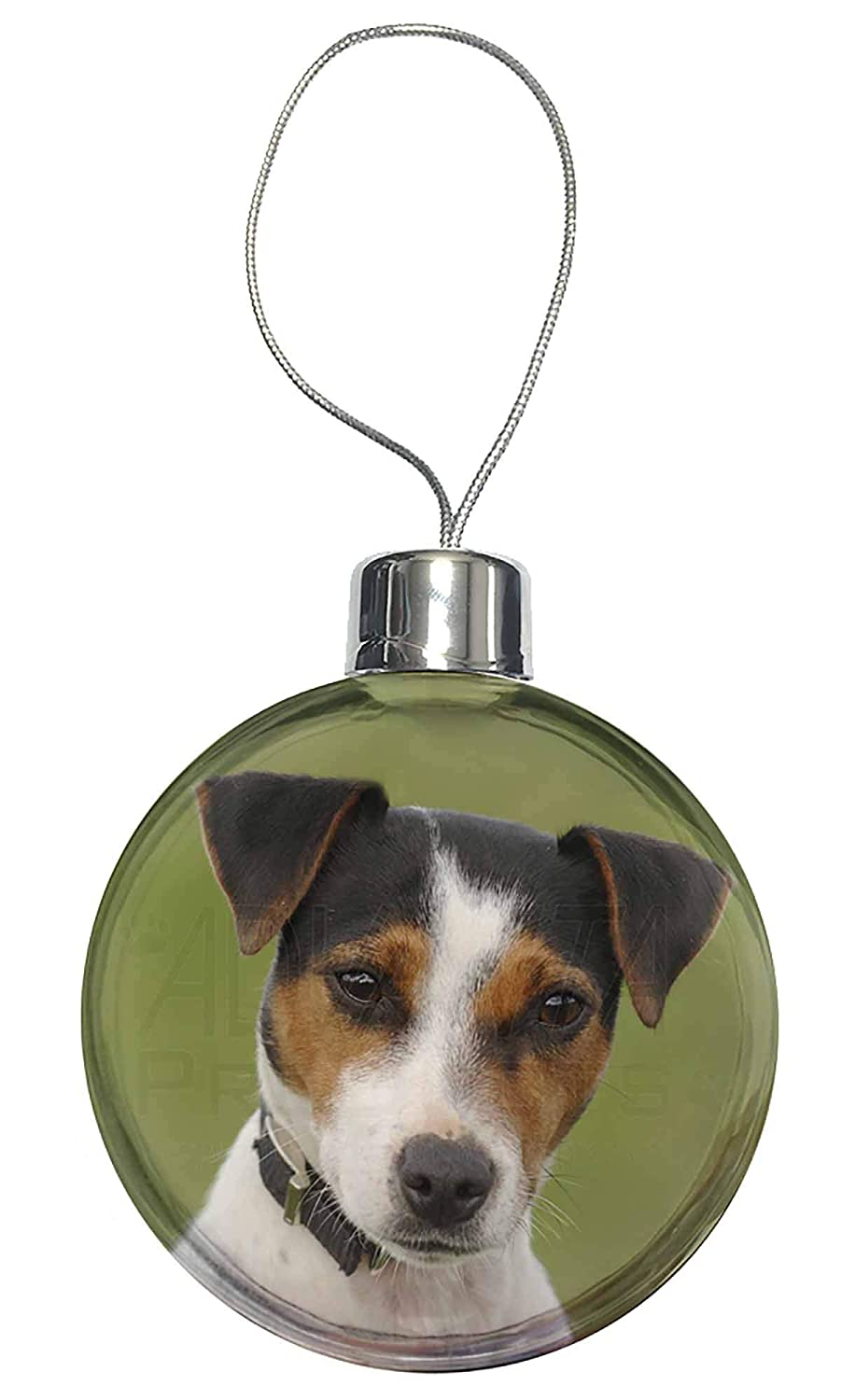 AD-JR57CB Jack Russell Terrier Dog Christmas Tree Bauble Decoration Gift