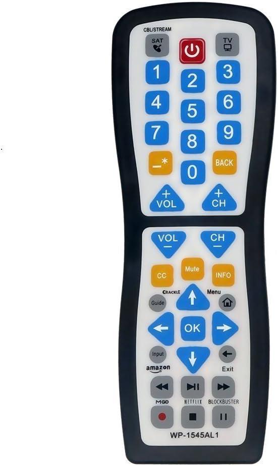 EasyClean Smart, aprendizaje Universal TV Remote Control wp1545 ...