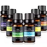 MyDear Aceites Esenciales de Aromaterapia - 100% de Aceite Esencial Natural Conjunto de Difusores y Humidificadores con Caja