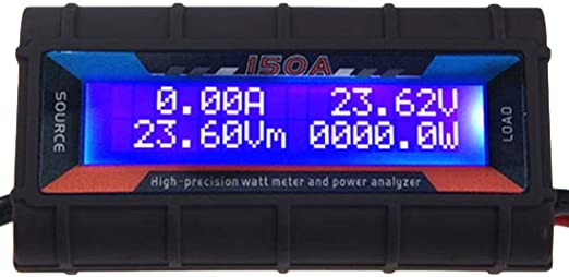 WattMeter Power Analyzer Watts up Präzisions Ampere-Meter bis 60V 130A