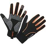 【サンティック】Santic 自転車グローブ サイクルグローブ バイク グローブ 防寒 耐磨スマホ対応 手袋