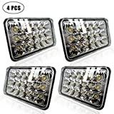 Best Led Headlights - DOT Sealed Beam 4X6 Projector Lens Rectagular Headlight Review
