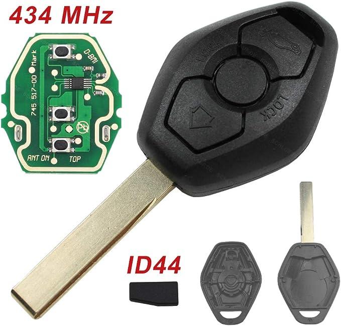 Konikon 3 Tasten Autoschlüssel Hu92 Rohling 434 Mhz Elektronik