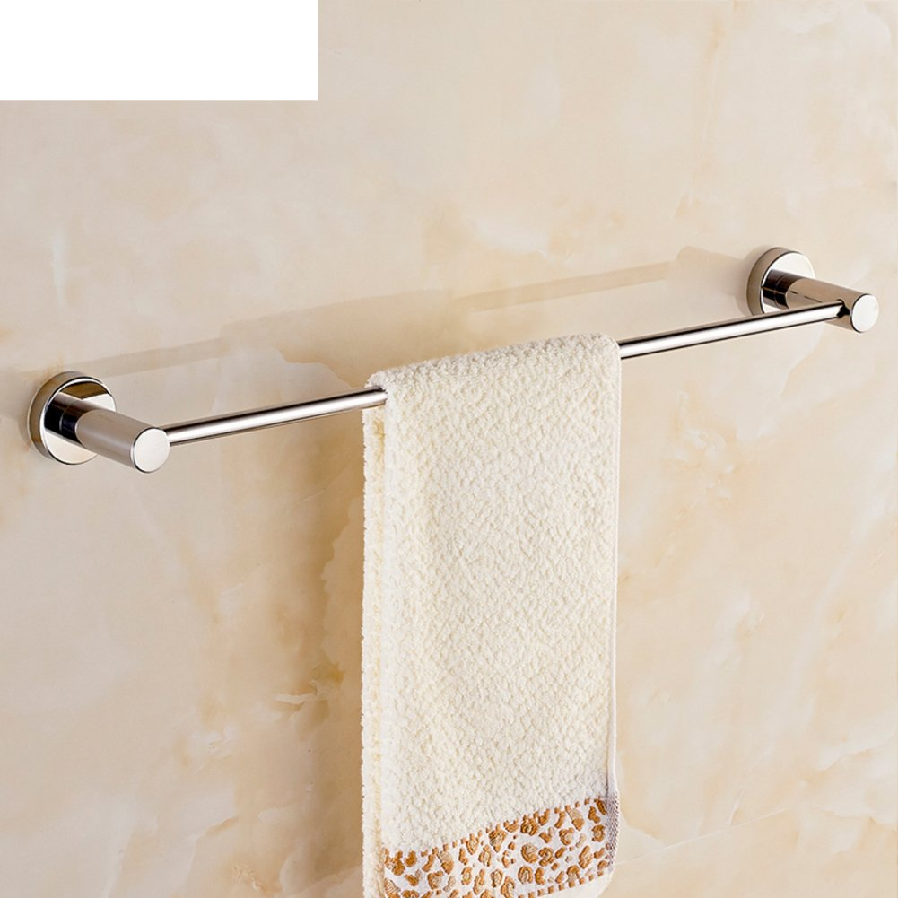 cheap Stainless steel Towel rack/Bathroom Towel Bar/Towel bar single rod towel rack-E