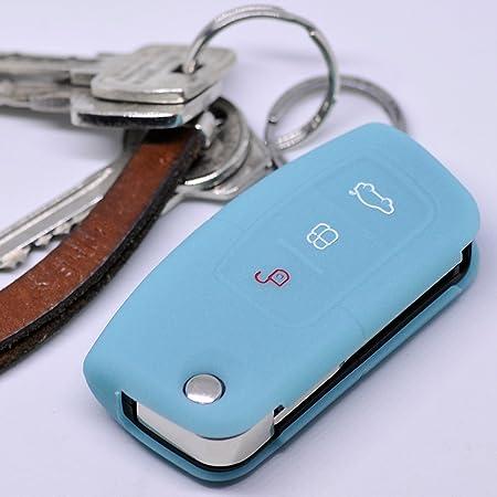 Soft Case Schutz Hülle Auto Schlüssel Für Ford Focus Elektronik
