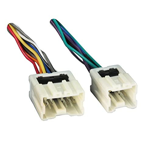 61WVo3KlcTL._SY463_ amazon com metra 70 7550 wiring harness for select 1990 2005 metra nissan wire harness at gsmx.co
