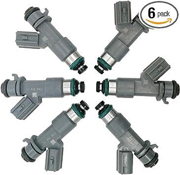 6 Pcs Fuel Injectors For Honda Accord Acura MDX TL TSX 3.5L 3.7L 16450-R70-A01