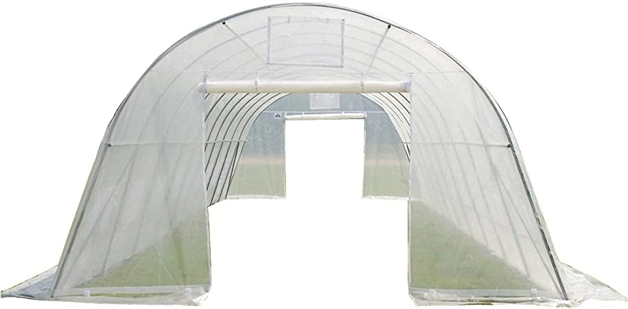 Large Heavy Duty Green House Walk in Hothouse 185 Pounds By DELTA Canopies Greenhouse 33x13x7.5