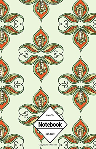 "GM&Co: Notebook Journal Dot-Grid, Lined, Graph, 120 pages 5.5""x8.5"": Light Green Mandalas (Classic Paisley Notebook) (Volume 3) pdf"
