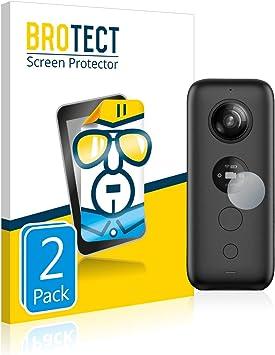 2 St/ück klare Displayschutz-Folie BROTECT Schutzfolie kompatibel mit Nikon D7100