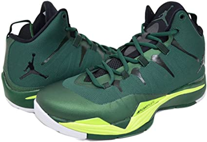 green white basketball shoes