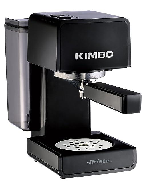 5 opinioni per Ariete 1364 Kimbo Macchina da Caffè , Nero/Grigio