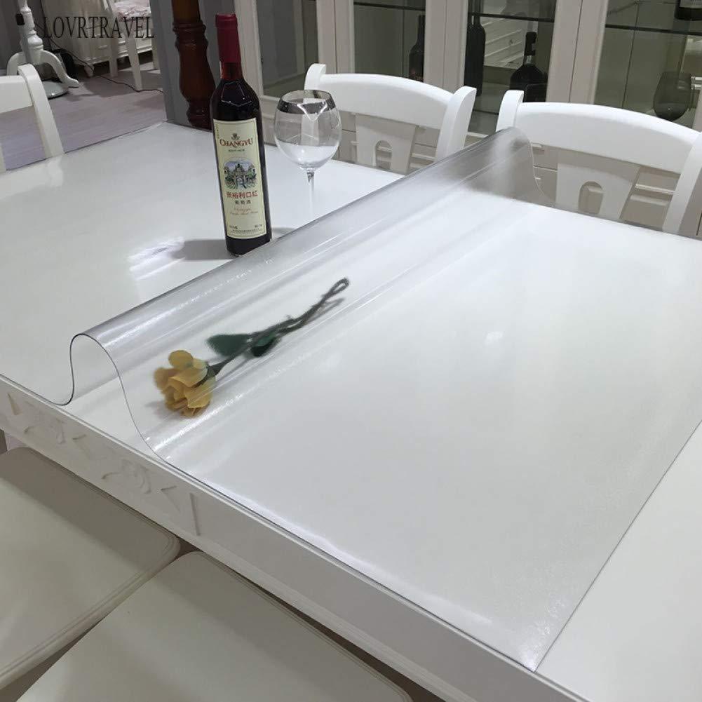 Frostedpattern 60x170 BNASA Nappe Nappe Imperméable Tablew avec Nappe en Verre Souple De Nappe en Verre Souple