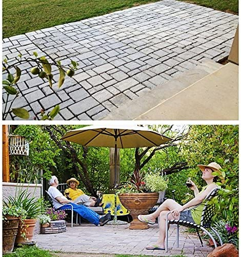 Reutilizable hormigón cemento piedra diseño pavimentadora caminar ...
