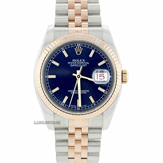 Rolex Datejust 16220 - Reloj automático, automático, automático, automático, con certificado de