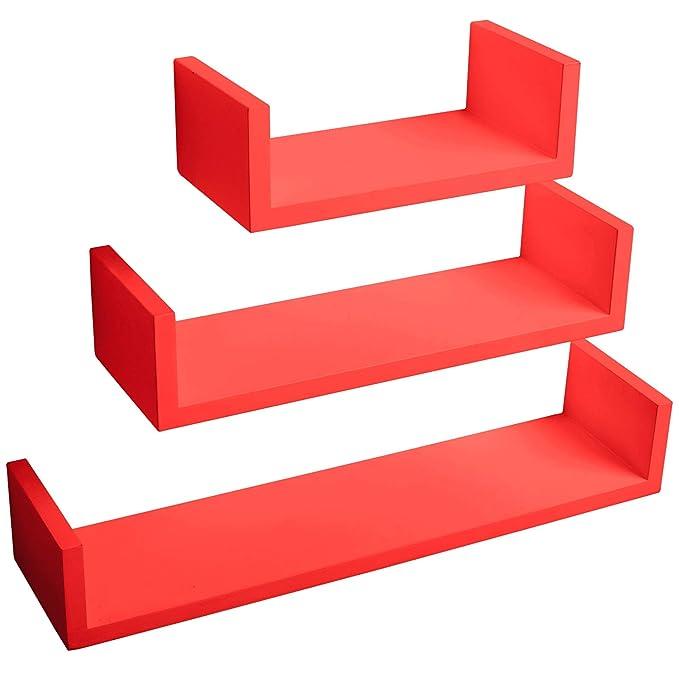 87 opinioni per WOLTU rg9239nrt Mensole da Muro Mensola a Cubo Scaffale Parete Decorazione per