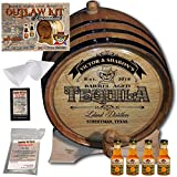 Personalized Outlaw Kit (Golden Tequila) ''MADE BY'' American Oak Barrel - Design 104: Barrel Aged Tequila - 2018 Barrel Aged Series (3 Liter)