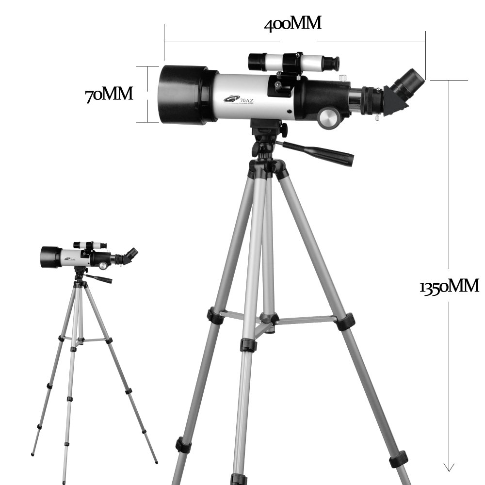 Landove 1.25 Barlow Lens 2X Multi Coated T Adapter Double Lens 3 Element APO with HD Broadband Green Film Optics for Standard Telescope Eyepiece
