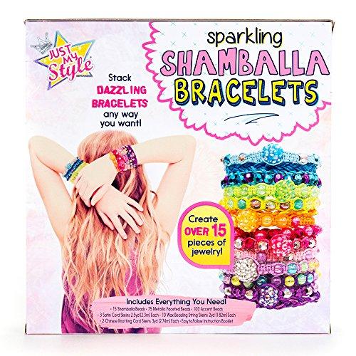 61WVt5PzRmL - Just My Style Shamballa Bracelets by Horizon Group USA