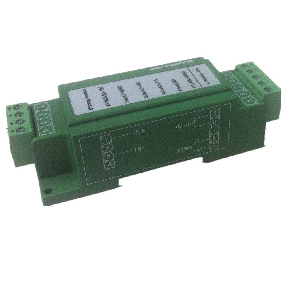 DC Voltage Transducer Voltage Sensor Transmitter Transformer Input 0-800V DC Output 0-20mA DC