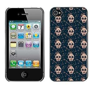 ZECASE Funda Carcasa Tapa Case Cover Para Apple iPhone 4 / 4S No.0002122