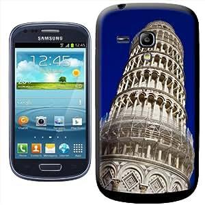 Fancy A Snuggle - Carcasa rígida para Samsung Galaxy S3 Mini i8190, diseño de la Torre de Pisa