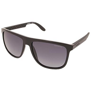 89248a17f6 Carrera 5003 BIL Shiny Black 5003 Square Pilot Sunglasses Lens Category 3  Size