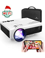 $99 » VANKYO Leisure 3W Mini Projector with Synchronize Smartphone Screen, 3600L Portable WiFi Projector Supports 1080P for iOS/Android Devices, Compatible with TV Stick, PS4, HDMI for Home & Outdoor