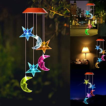 Wind Chimes Outdoorgifts For Momhummingbird Chimesolar