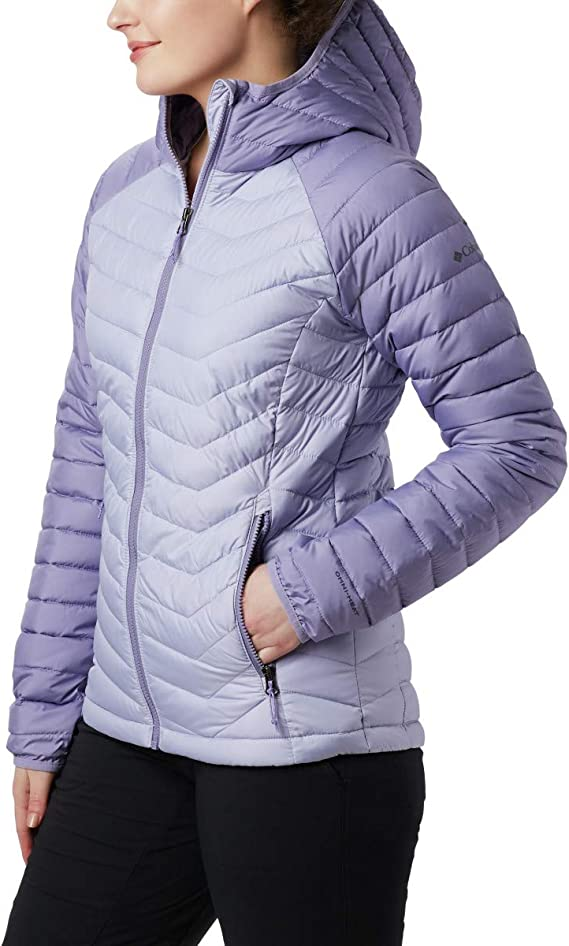 TALLA XS. Columbia Powder Lite Hooded - Chaqueta Mujer