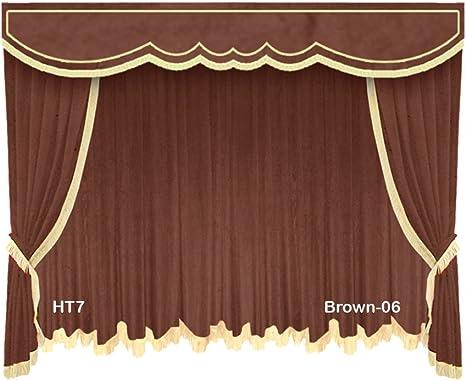 Extra Length Green 11ft H Velvet Curtain Long Panel Tall Theater Staging Drapery
