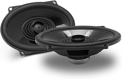 "Audio Harley Replace Saddlebag Lid Speakers Rockford Fosgate TMS57 5/"" x 7/"" BOOM"