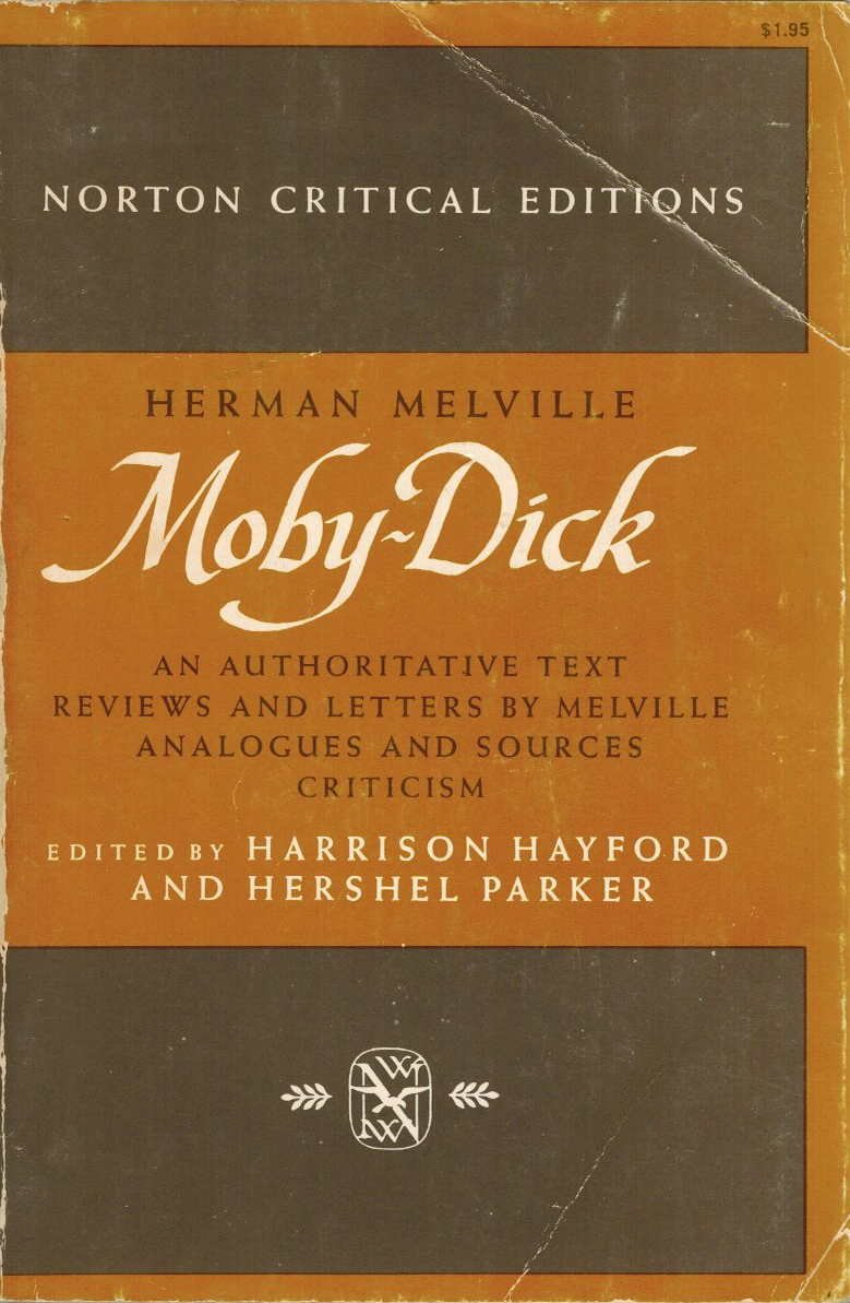 Moby Dick Authoritative Melville Analogues Criticism