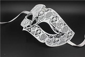 Máscara de Baile máscara de Fiesta de Metal máscara máscara de Oro Venecia Diamante Masculino,