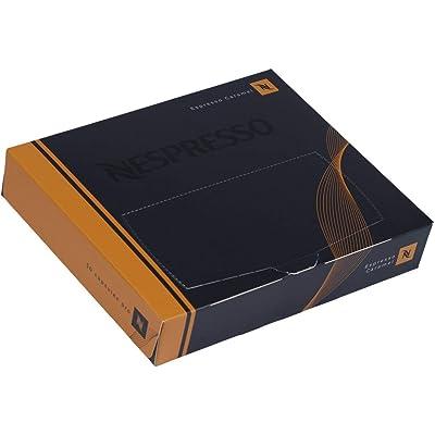 Nespresso Cápsulas Pro – 50 x Espresso Caramelo – para sistemas Nespresso Pro