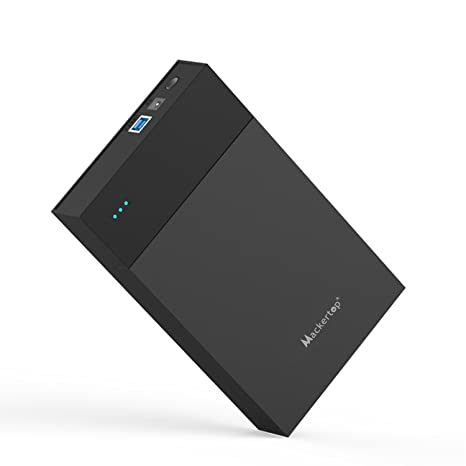 Amazon.com: Mackertop Hard Drive Enclosure 3.5 inches, USB ...