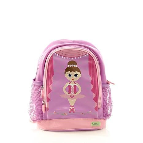96e85e49dbf6 Amazon.com: BobbleArt Small Toddler Backpack- Ballerina: Toys & Games