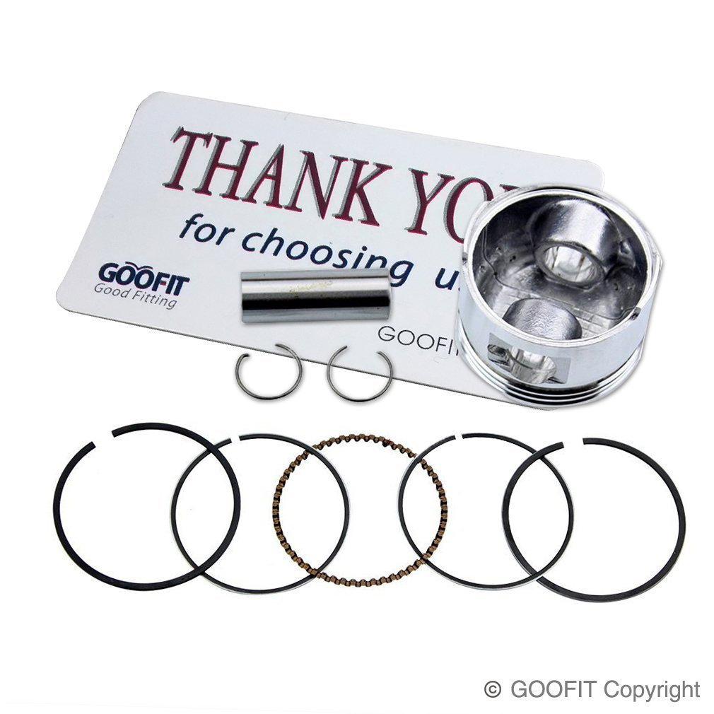 GOOFIT Big Bore Cylinder Rebuild Kit GY6 50cc 139QMB Racing Scooter Parts 64mm Valve by GOOFIT (Image #6)