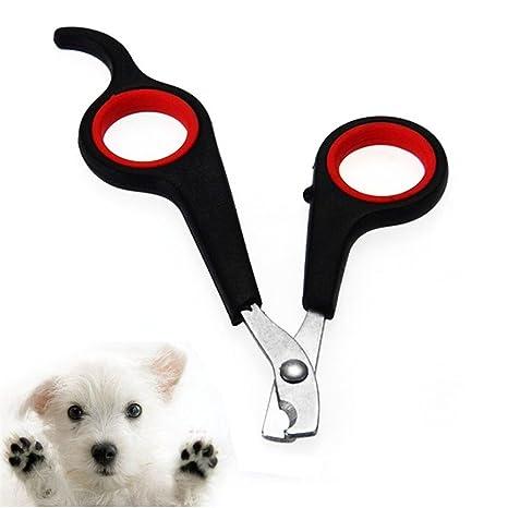 TJW Cortauñas para Gatos Perro, Tijeras cortadoras de Cuidado de Las Uñas,Tijeras Profesionales