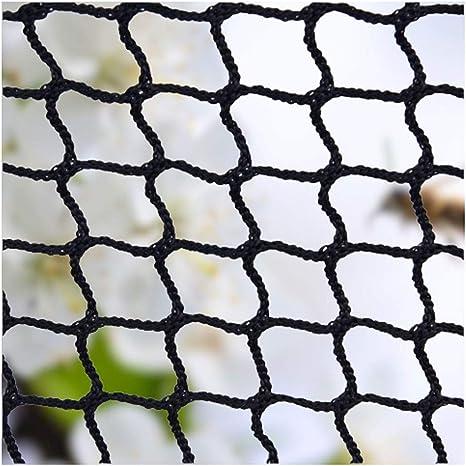 AEINNE Red Cuerda Negra,Red Escalera Bebe de Terraza Seguridad Protecciones Niños Deportes Escaleras Protección Gatos para Balcones Malla Nylon Goal Net Redes Bola Campo Aire Libre FúTbol Golf Bola: Amazon.es: Deportes y