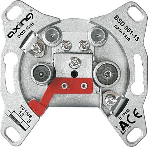 Axing Bsd 961 13 Multimedia Antennendose Elektronik