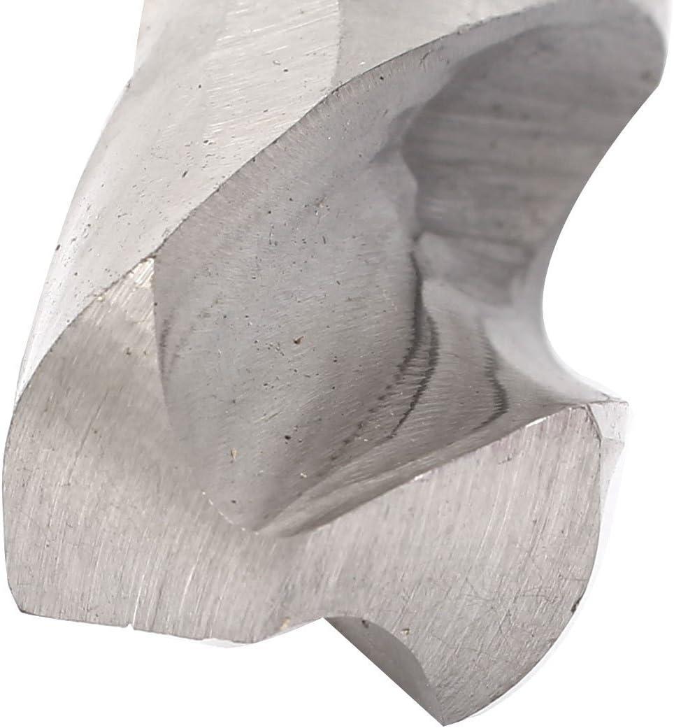 DealMux 1//2 pulgadas ca/ña recta de 31 mm de perforaci/ón Dia HSS Bit Fresa espiral