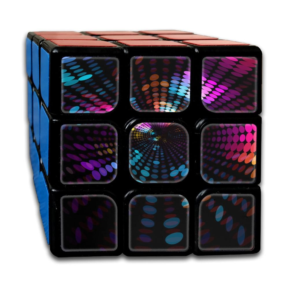 AVABAODAN Divergent Rubik's Cube Custom 3x3x3 Magic Square Puzzles Game Portable Toys-Anti Stress For Anti-anxiety Adults Kids